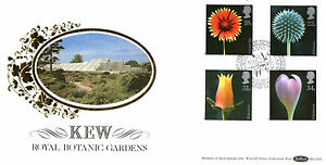 20-JANUARY-1987-FLOWERS-BENHAM-BLCS-20-FIRST-DAY-COVER-RBG-KEW-SHS