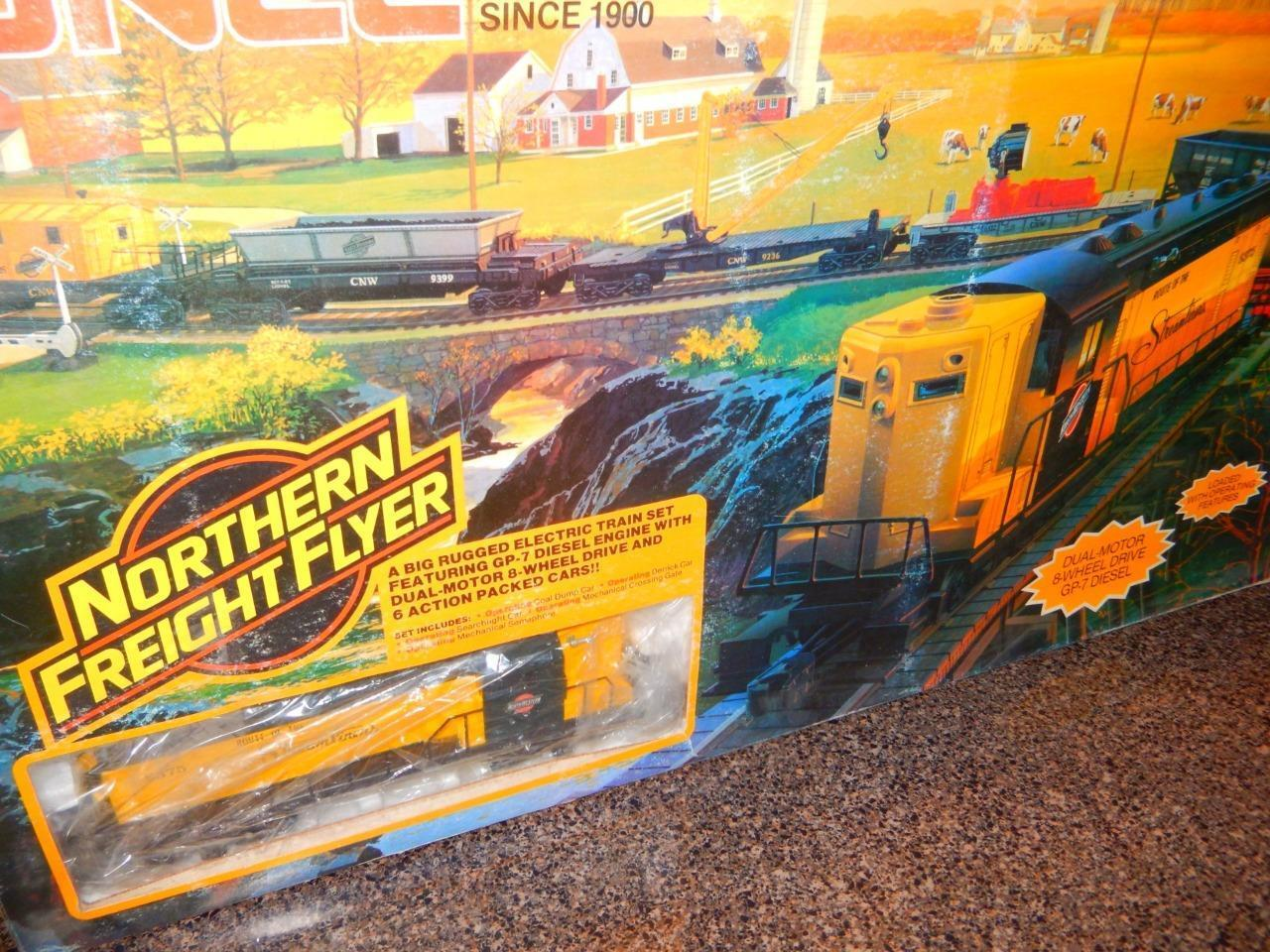 FREIGHT NORTHERN 1354- - LIONEL FLYER SET BOXED - 027
