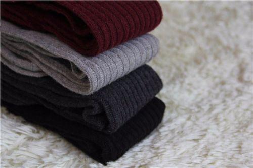 Winter Warm Womens Knit Crochet Cotton Soft Thick Long Socks Thigh-High Leggings