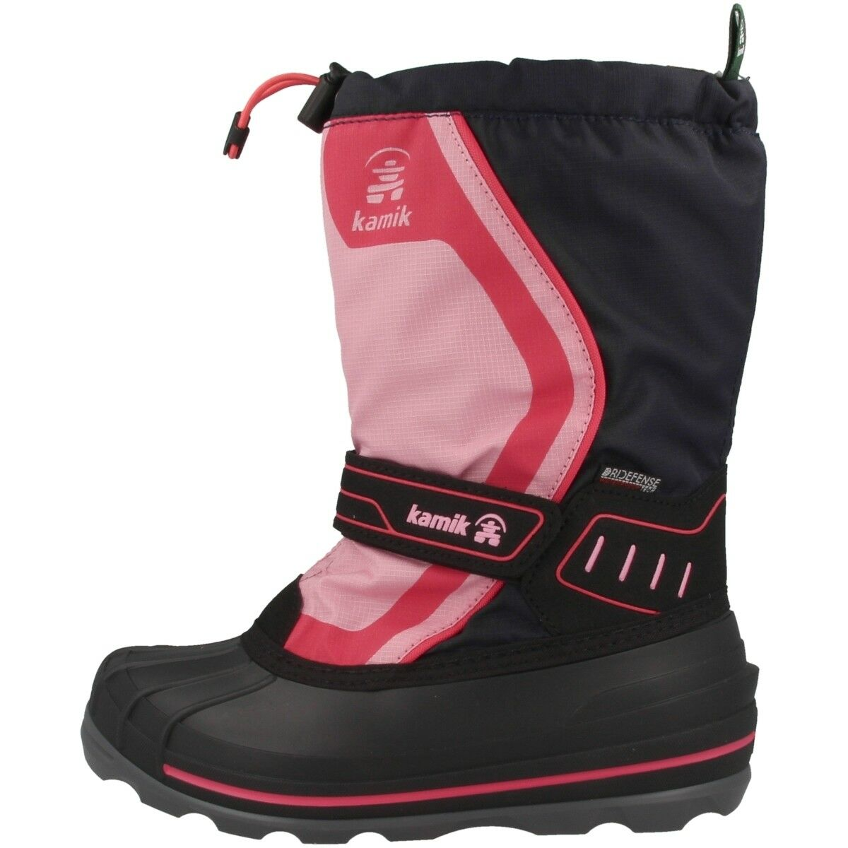 Kamik Snowcoast4 Kinder Winterstiefel Stiefel Stiefel Schuhe navy pink NK4852-NAV