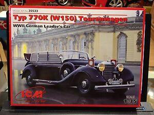 KIT-MAQUETA-TYP-770K-W150-TOURENWAGEN-WWII-GERMAN-LEADER-039-S-CAR-1-35-ICM-35533