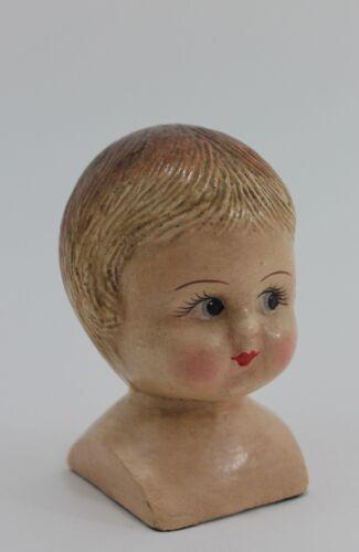 Puppenkopf Tootsie Schelm Kopf Büste Kind Nostalgie Vintage Shabby Landhaus chic