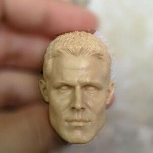 "Hot 1//12 Scale Green Arrow Stephen Amell Head Sculpt Unpainted Fit 6/"" ML Figure"