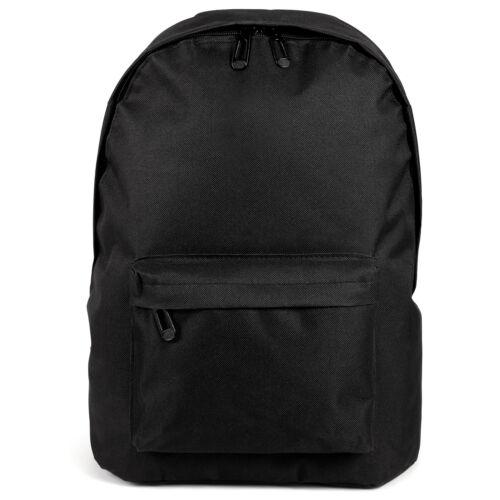 Mens Womens Unisex Canvas Casual Trip School Bag Backpack Rucksack