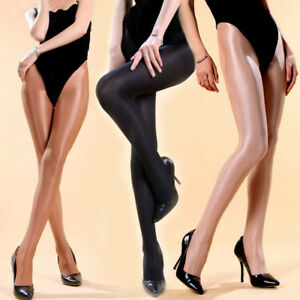 Plus-Size-Women-Sexy-70D-Oil-Glossy-Pantyhose-Tights-Luxury-Shine-Dance-Bodyhose