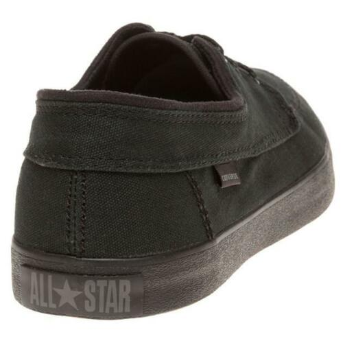 1598d05982184e 2 sur 4 Converse Unisex Sea Star Ls Ox Trainers - Black - Sz 5.5Uk Eur 38 -
