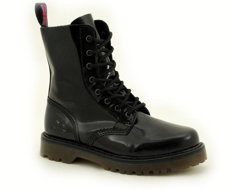 buona reputazione Nevermind 8 Fori Stivali Stivali Stivali Bombay nero Patent 48-110080-8  nessuna importazione Estremo Oriente   80% di sconto