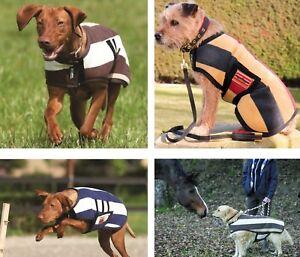 Details About Horseware Rambo Deluxe Newmarket Stripe Fleece Dog Coat Rug Blanket Jacket