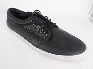 Asos-Kennedy-Homme-Tisse-A-Lacets-Chaussures-Bateau-UK-12-EU-47-LN084-CC-05