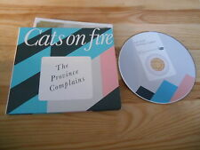 CD Indie Cats On Fire - The Province Complains (12 Song) MARSH-MARIGOLD REC