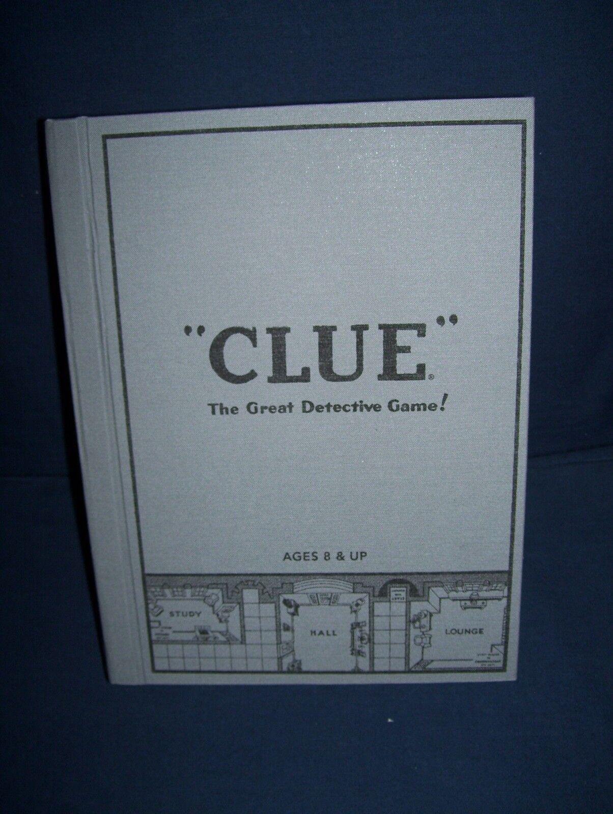 Clue Classic Collector's Bibliothèque Edition utilisé 2010