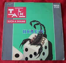 Talk Talk, such a shame / it's my life (us mix), Maxi Vinyl
