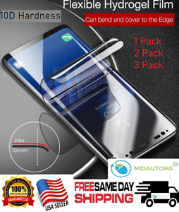 For-Samsung-Galaxy-S10-S10e-PLUS-Full-Cover-HYDROGEL-Film-Soft-Screen-Protector