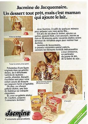 Collectibles Breweriana, Beer Intellective Publicité Advertising 1974 Dessert Jacmine De Jacquemaire To Win A High Admiration