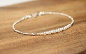 Natuerlicher-Perlen-und-Huegelstamm-Silber-Edelstein-Armband-925-Silber-Verschlus