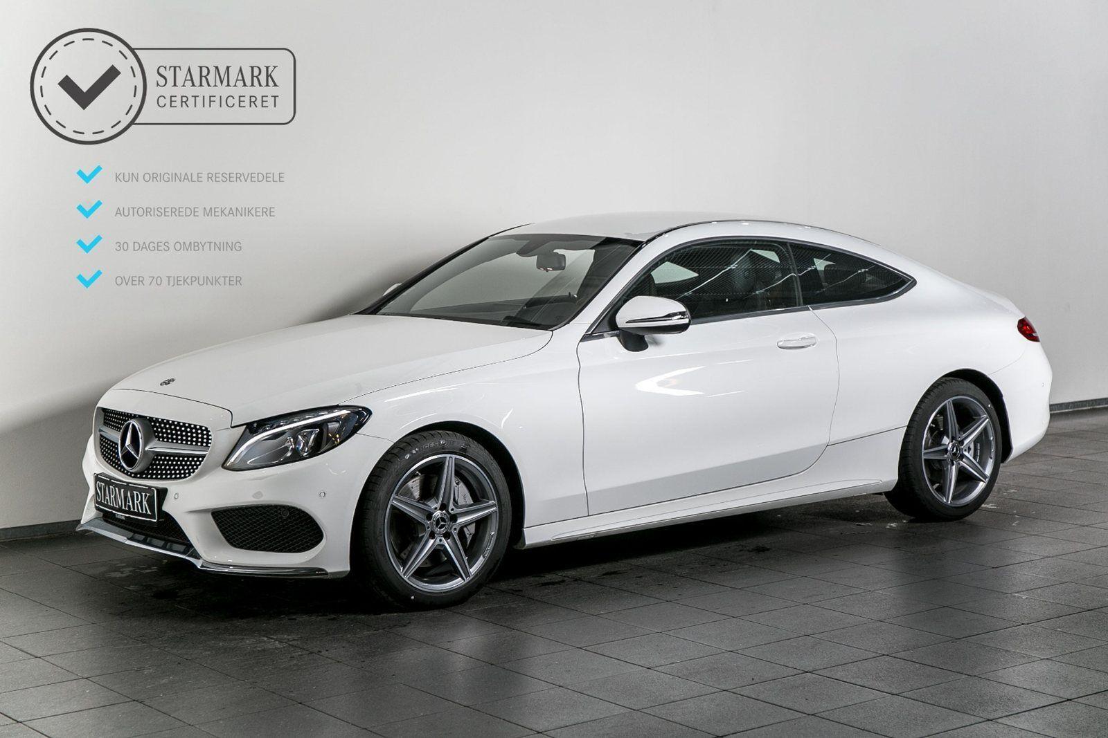 Mercedes C300 2,0 Coupé aut. 2d - 659.900 kr.