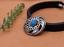 10X-Bohemian-3D-Flower-Turquoise-Conchos-For-Leather-Craft-Keychian-Wallet-Decor miniatuur 56