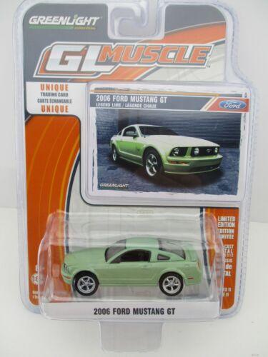 GL Muscle  Ford Mustang GT  2006  Greenlight  1:64  OVP  NEU