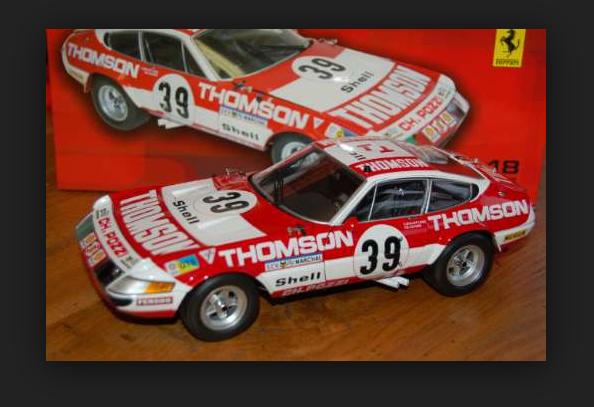 À la fin de l'année, j'ai acheté un grand groupe et rencontré environ dix mille ménages. Ferrari 365 GTB4 Competizione le Femmes 1973  8164FO1/18 Kyosho   Mode Attrayant