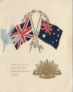 Ww1 anzac australian christmas greetings card poem 1917 from soldier image is loading ww1 anzac australian christmas greetings card poem 1917 m4hsunfo