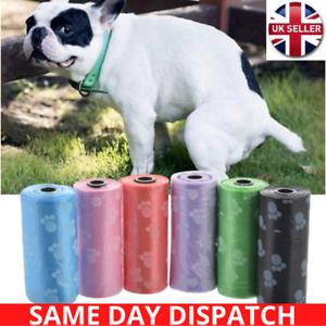 NEW-DOG-POO-BAG-DOGGY-BAGS-Pet-Cat-Poop-Pooper-Scooper-DEGRADABLE-Waste-Bag-UK