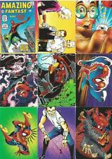 Spiderman 2 - 30th Anniversary Full 90 Card Trading Card Base Set Comic Images