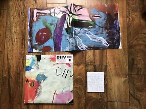 Diiv Is The Is Are 2lp Capture Tracks Special Edition Color Vinyl W Booklet Ebay
