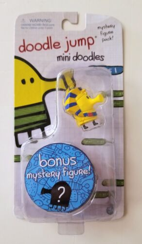 """Doodle Jump Mini Doodles Pharaoh 1-1//4/"""" Figure Bonus Mystery Figure Unopened"""