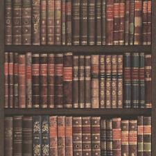 Rasch Libro Mensola Carta Da Parati Libri Custodia Biblioteca Strutturato Finto