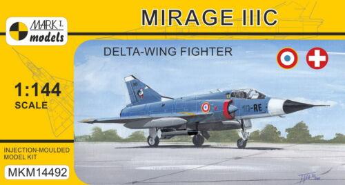 Mark I Models 1//144 Dassault Mirage IIIC /'Delta-Wing Fighter/' # 14492