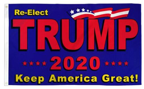 large DONALD TRUMP 2020 USA  KEEP AMERICA  GREAT  3X5 FLAG banner signs FL783
