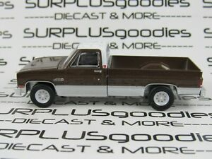 Greenlight-1-64-LOOSE-1984-GMC-2500-HIGH-SIERRA-Long-Bed-Squarebody-Pickup