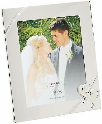 Lenox True Love 8 X 10 Picture Frame Silver Plated New In