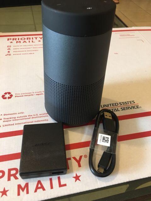 Bose SoundLink Revolve Portable Bluetooth 360 Speaker Triple Black NEW
