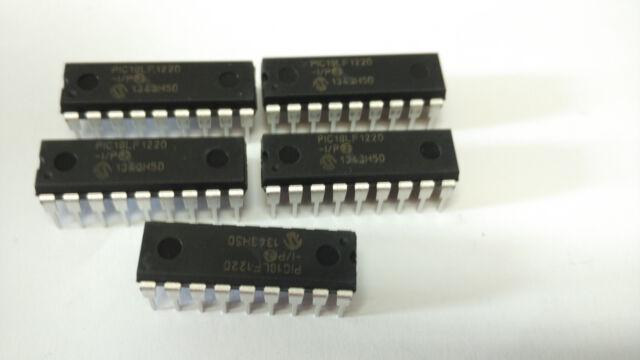 PIC18F1220-I/P Microchip IC, 8Bit Flash MCU, 18F1220, Dip18 - Pack Of 10
