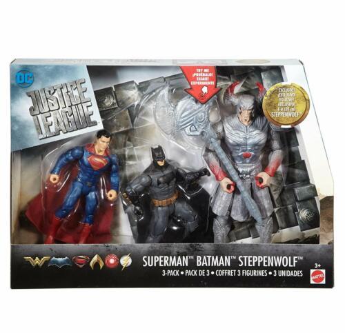 Steppenwolf DC COMICS Justice League bataille dans une boîte 3PK-Superman Batman