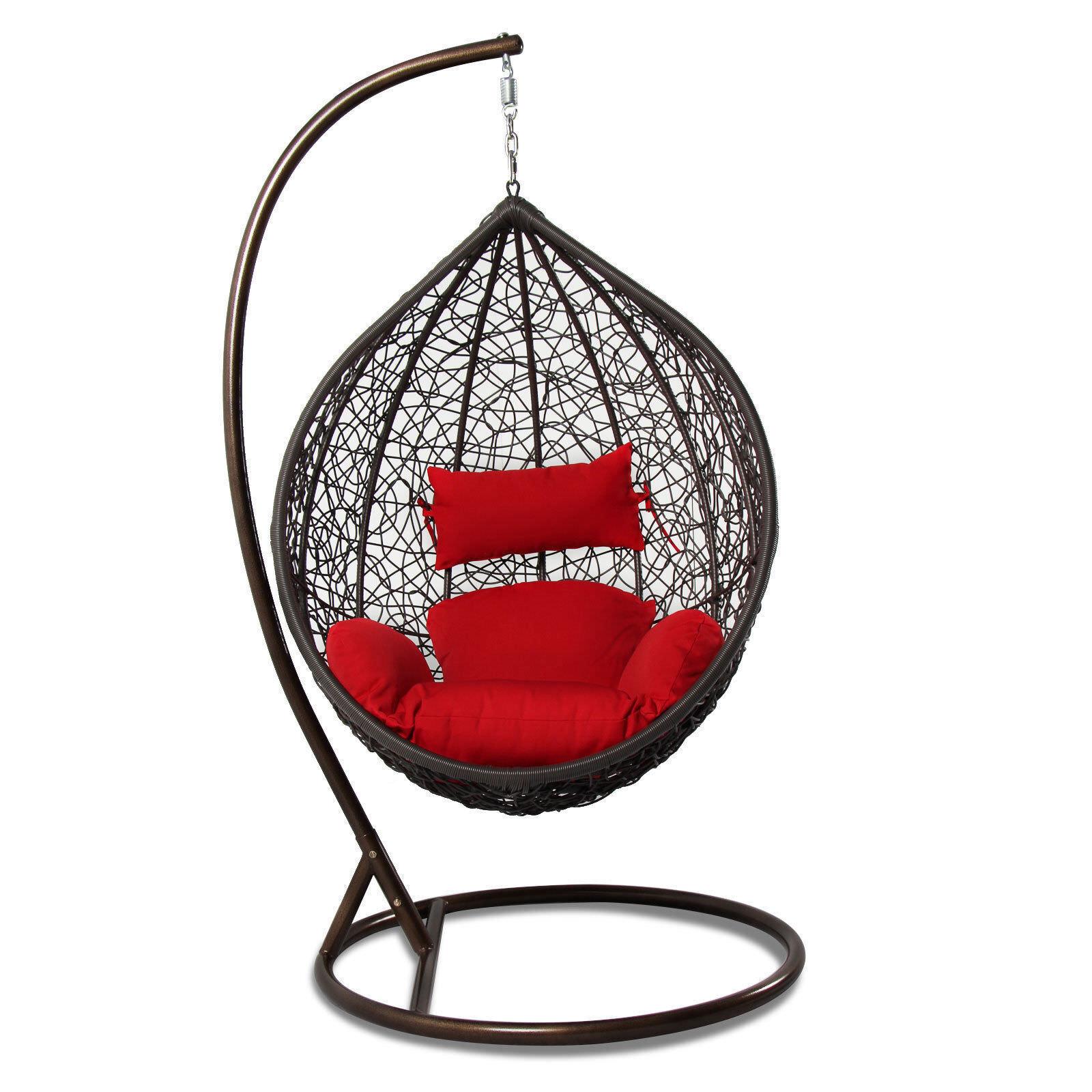 Buy Cover Outdoor Rattan Wicker Hanging Hammock Proch Swing Chair W