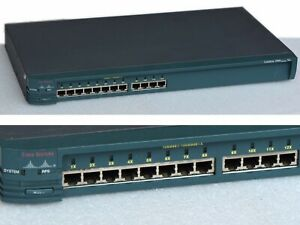 AgréAble Cisco Systems Catalyst2900 Ws-c2912-xl-en 12xport 10/100 Lanswitch # B83_sep17