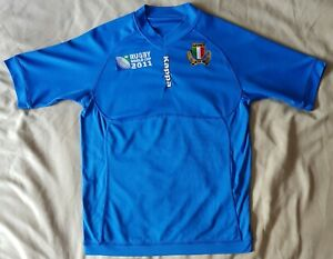 Italie-National-Rugby-Union-Shirt-Jersey-Adult-Medium-M-34-coupe-du-monde-36-034-2011