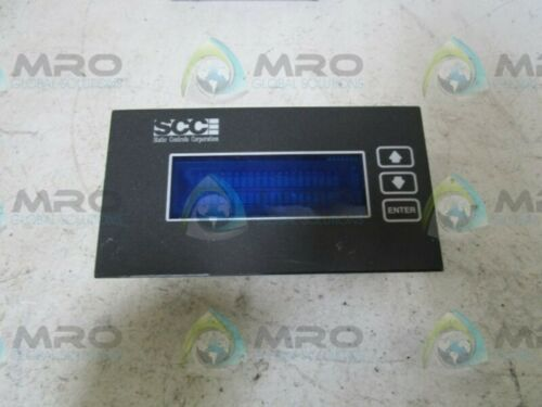 USED * SCC 1080-S4-03-X-X OPERATOR PANEL