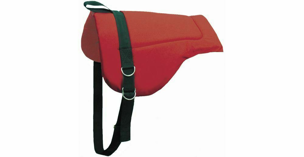 ABETTA Bareback cavallo equitazione Pad with Heavy Canvas Top e Foam Center