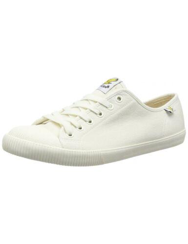 Lyle and Scott Tima Canvas Shoes Pumps Lyle /& Scott Mens Trainers White