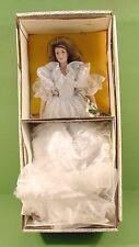 "Franklin Mint Heirloom The Gibson Girl Bride Porcelain Doll 22""~Original Box"