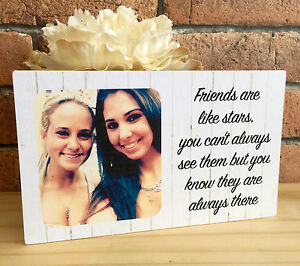 Good Friends Are Like Stars Picture Frame Picture Frame Handcrafted Picture Frame