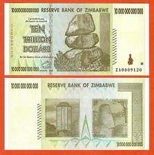 P88R   ZIMBABWE  10 Trill  Dollar  ERSATZNOTE  2008 UNC