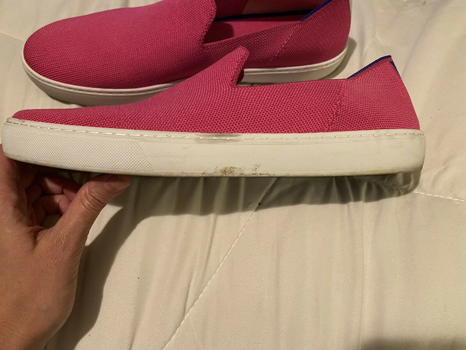 Rothys sneakers Bubblegum pink size 12.5 - image 3