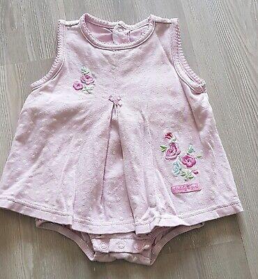 100% Wahr Baby Mädchen Body - Kleid 2 Teiler Optik Von Carters In Gr. 80 ( 12 Monate ) Top