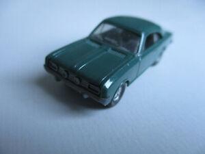 Wiking H0 Opel Commodore, 84, patinagrün !!!