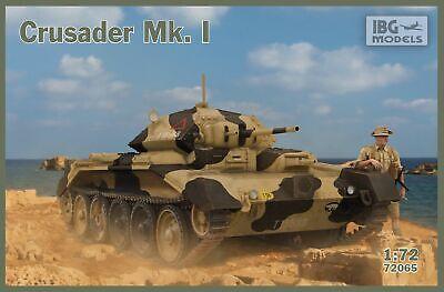 Luminosa Ibg 1/72 Kit Modello 72065 Crusader Mk.i - British Cruiser Tank Mk.vi Promuovi La Produzione Di Fluidi Corporei E Saliva