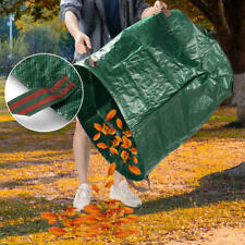 4-Pack 132 Gallon Gardening Bags for Lawn Yard, Extra Large Reusable Leaf, Waste